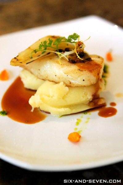 Addictions Cafe 22 Dempsey - A La Carte Buffet Brunch - Cod Fish