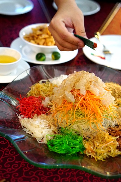 Presidential suite cny dinner package at concorde six for Australian cuisine singapore