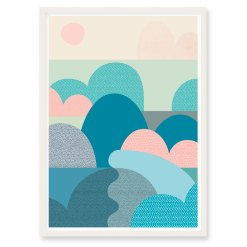 INLET Art Print   Six By Eight