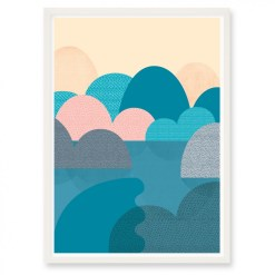 TRIBUTARY Art Print   Six By Eight