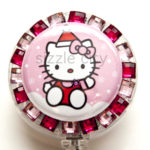 SIZZLE CITY Custom Retractable ID Badge Reels: Hello Kitty Christmas Kitty