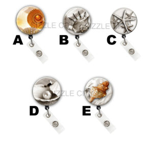 Sea Life Badge Reel Retractable ID Badge Holders: Featured Image
