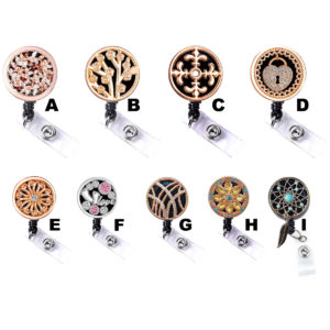 Coin Plate Badge Reel Retractable ID Badge Holders: Featured Image