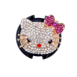 Hello Kitty Head Stethoscope ID Badge Name Tags