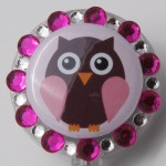 SIZZLE CITY Custom Retractable ID Badge Reels: The Pink Owl