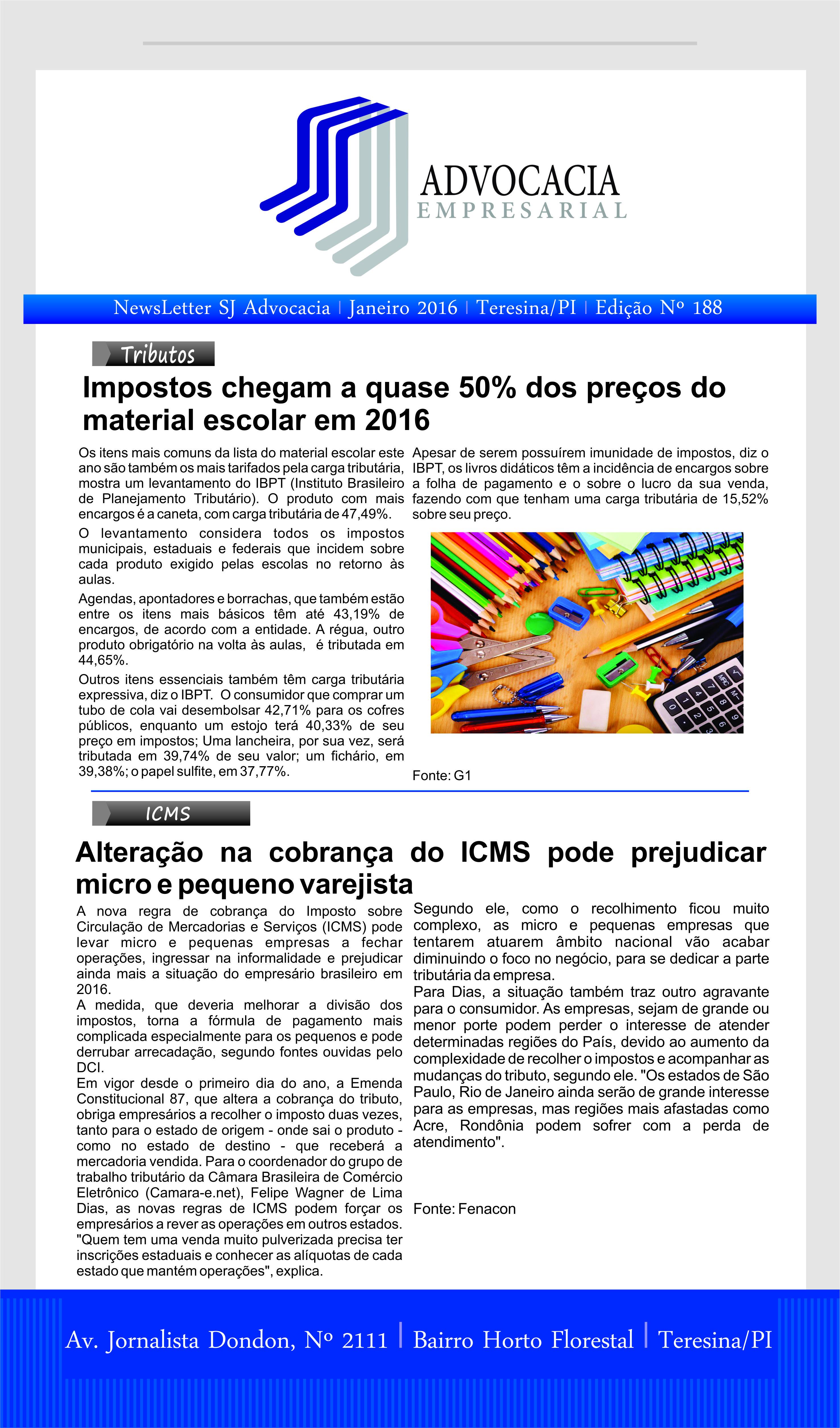 News n° 188-  ano 4 -12-01