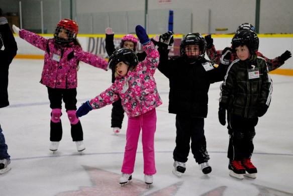 Skate Windsor Canskate group lesson.