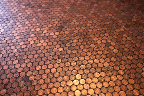 pennies-floor