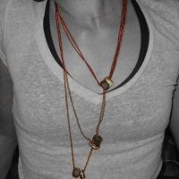 New Jewelry Design: 'Three Talismans | Nodes' necklace