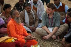 Alex and Hindu priest