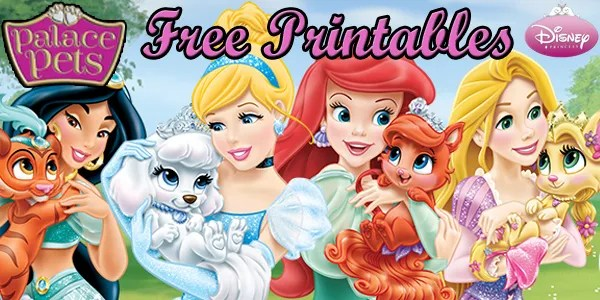 The Disney Princess Palace Pets Are Just So Cute I Had To Share These Free Coloring Pages And Activities Also Added A Little Party Flare With