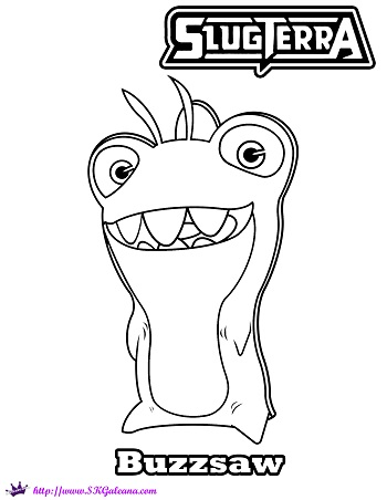 slugterra coloring pages transformation tuesday - photo#6