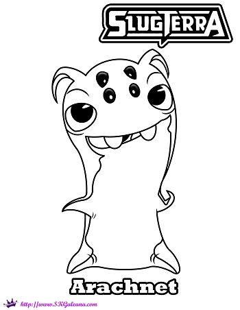 slugterra coloring pages tazerling ghoul - photo#25
