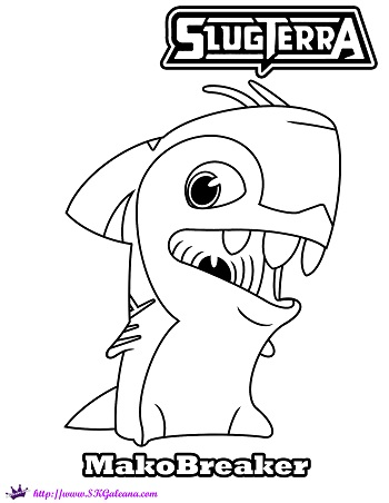 slugterra coloring pages transformation tuesday - photo#19