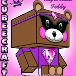 Super Mom Teddy Bear 3D by SKGaleana small