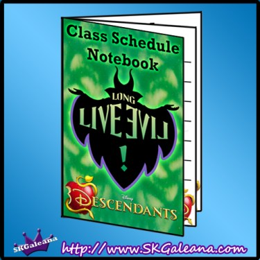 Free Disney Descendants Printables