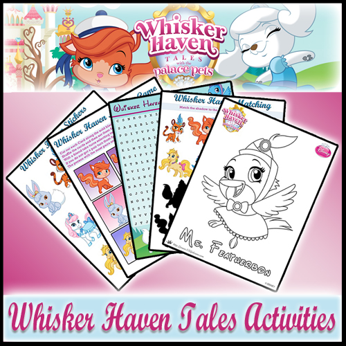 Whisker Haven Printable Coloring