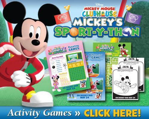 Mickey SportYThon Activities