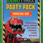 DinoTrux first Birthday Party Kit