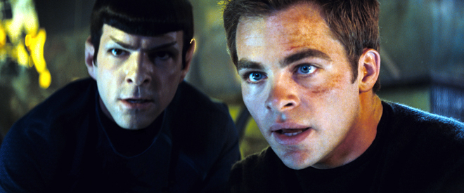 """""""Spock"""" and """"Kirk"""""""