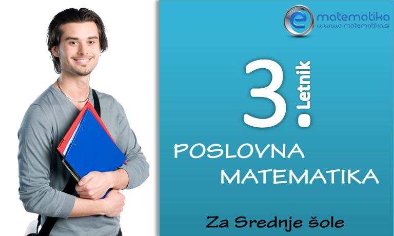 3 letnik poslovna matematika