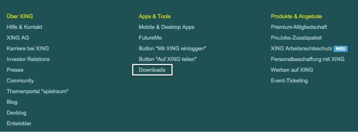 XING in WordPress Website einbinden & verknüpfen