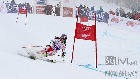 Гергана Заднепровска лети към впечатляващата си победа. Снимки: Николай Дончев/BGLive