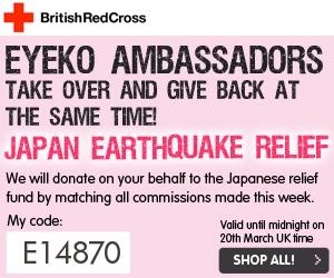 Eyeko e Giappone codice ambasciatrice