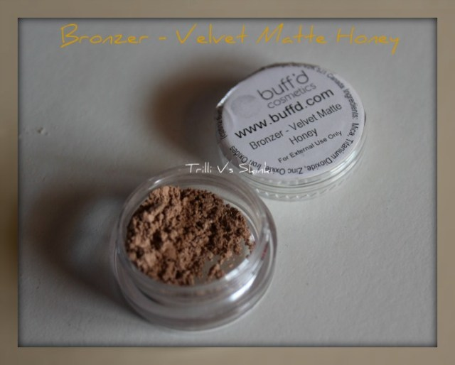 Bronzer velvet matte honey