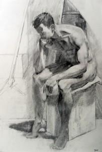 Drawing by Trevor Jones