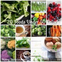 20 Foods Under 50 Calories