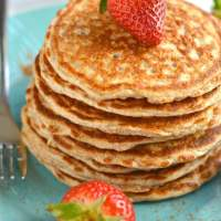 Cottage Cheese Pancakes {GF, Low Cal}