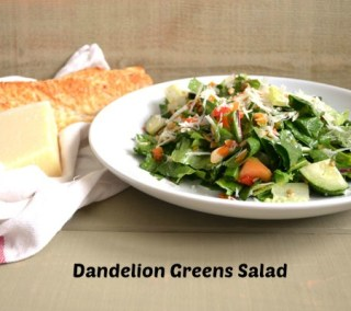 Dandelion Greens Salad Recipe
