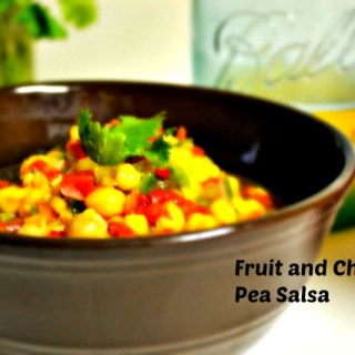 Fruit Salsa with Chickpeas