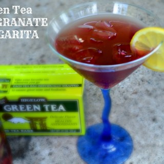 Green Tea Pomegranate Margarita