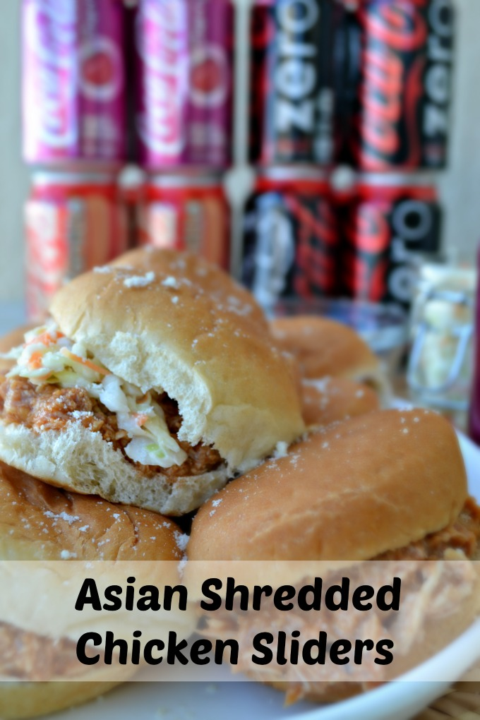 Asian Chicken Sliders