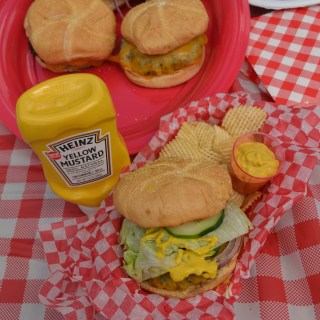 Nothing Tops a Burger Like New Heinz® Yellow Mustard