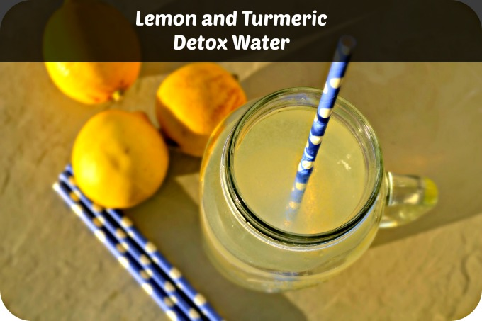 Lemon Turmeric Detox Water