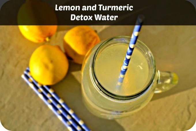 Turmeric Detox Water