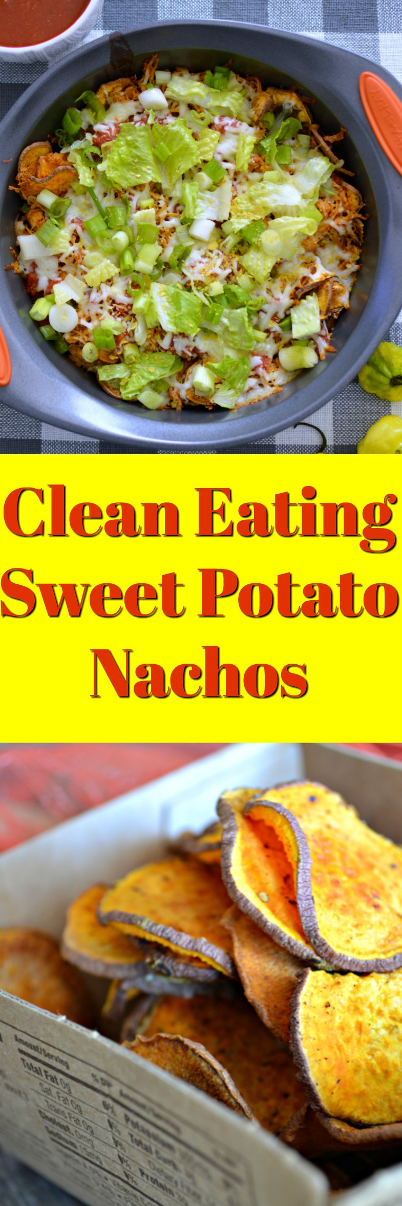 You will LOVE these <strong>Clean Eating Sweet Potato Nachos</strong> that are the perfect appetizer if you want lean clean food. Loaded with fiber and protein, this is an easy way to swap out fatty tortilla chips.
