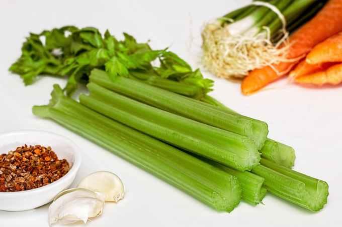 Celery under 50 calories