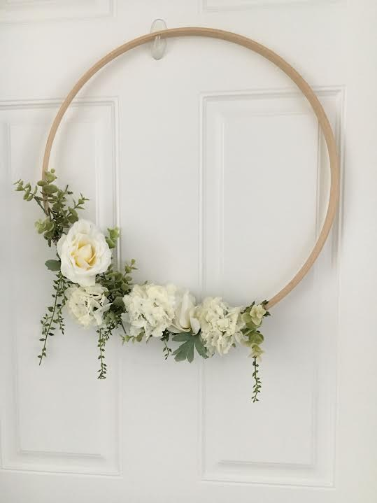 When It Is Time To Hang, Get An Over The Door Wreath Hanger (NOT A Command  Hook As Pictured Above). Because The Wreath Will Be Side Heavy, You Will  Need An ...