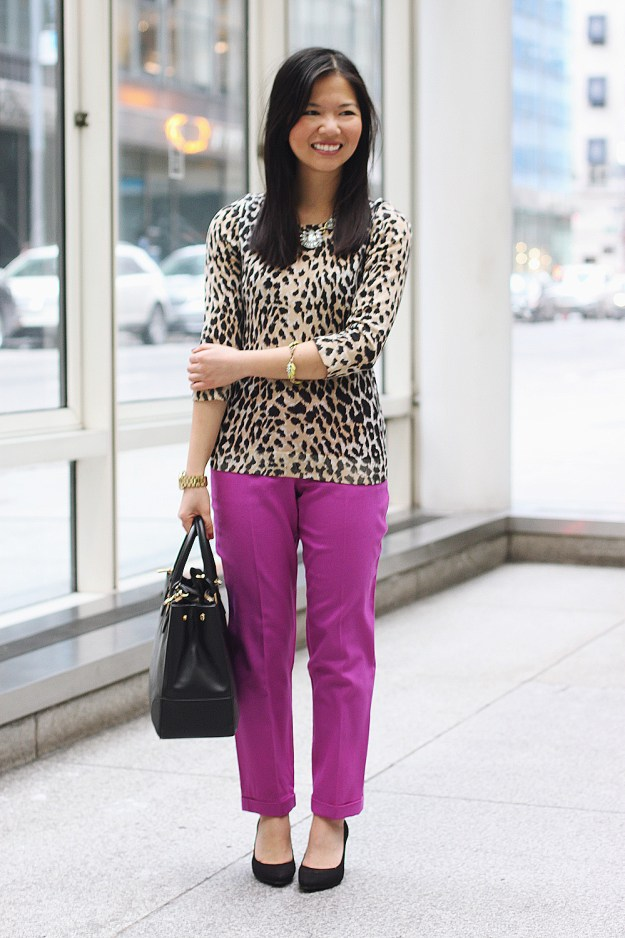How to Mix Leopard and Brights