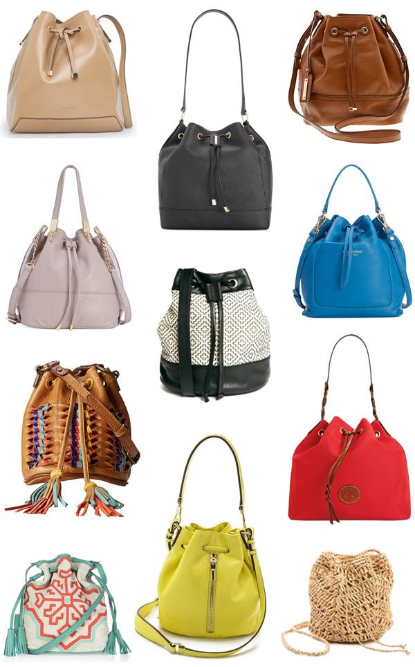 How to Wear Bucket Bags