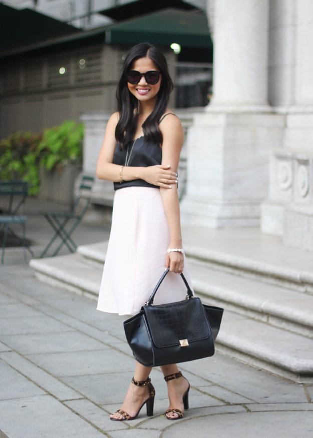 Black & Pale Pink