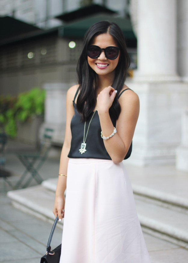 Black & Pale Pink Outfit