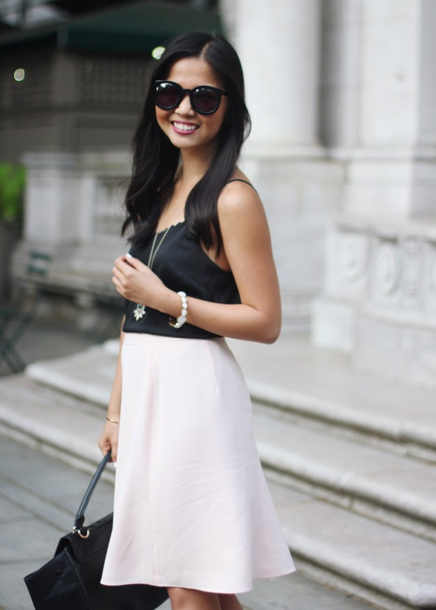 How to Wear Pale Pink