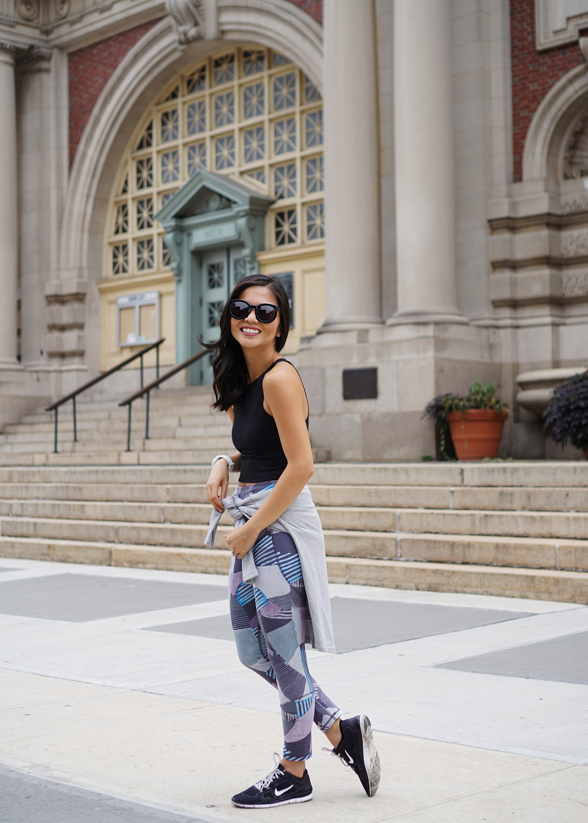 Workout Outfit / Lou & Grey Printed Leggings