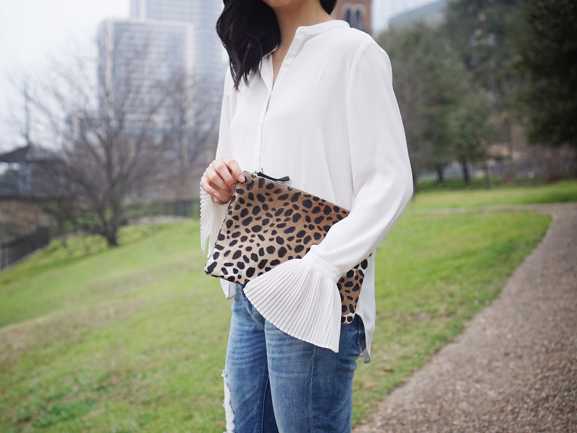 Skirt The Rules / Blouse with Bellsleeves