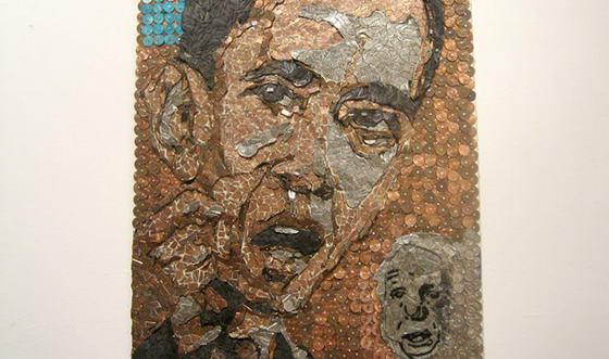 """""""Обама против Маккейна"""" автор Теодора Станке"""